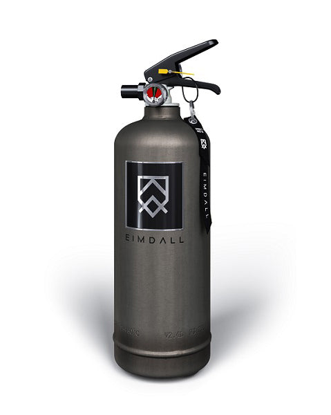 Eimdall Grey Industrial Style metal fire extinguisher