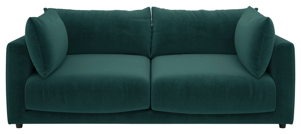 Habitat's Clemence 4 seater sofa in Emerald green from the AW18 collection