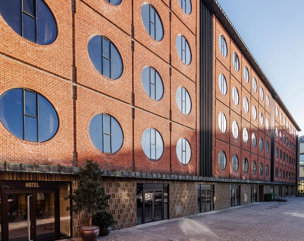 Hotel Ottilia luxury boutique hotel in former Carlsberg brewery in Copenhagen