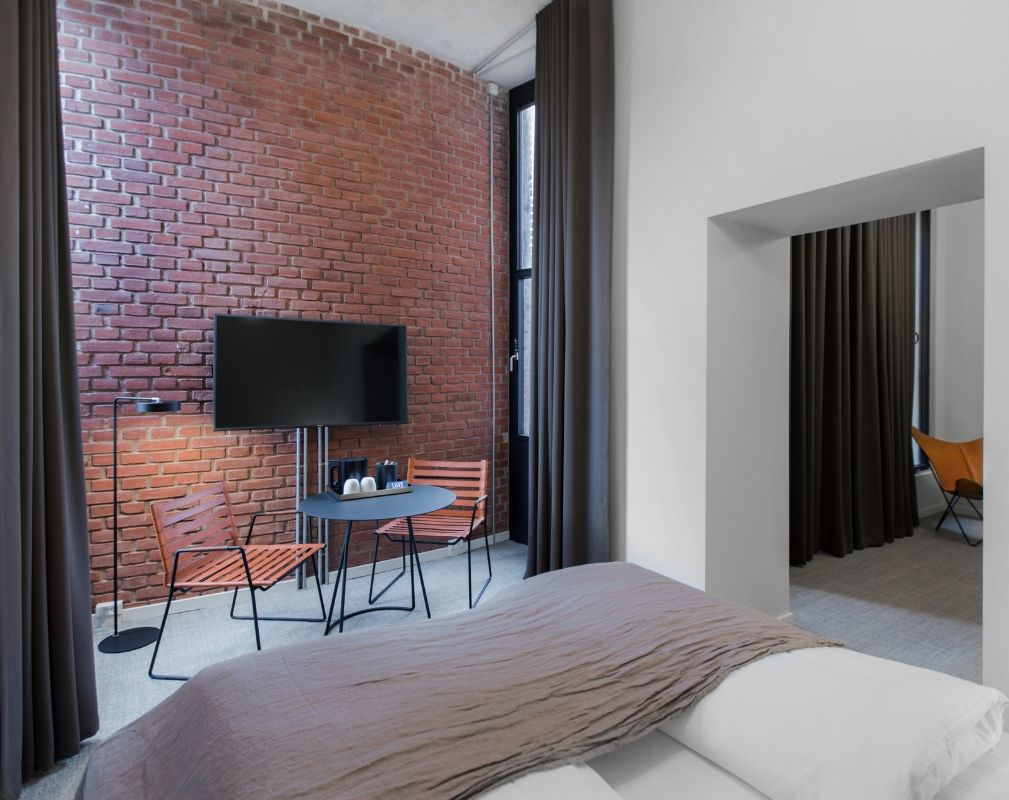 Suite at Hotel Ottilia luxury boutique hotel in former Carlsberg brewery in Copenhagen