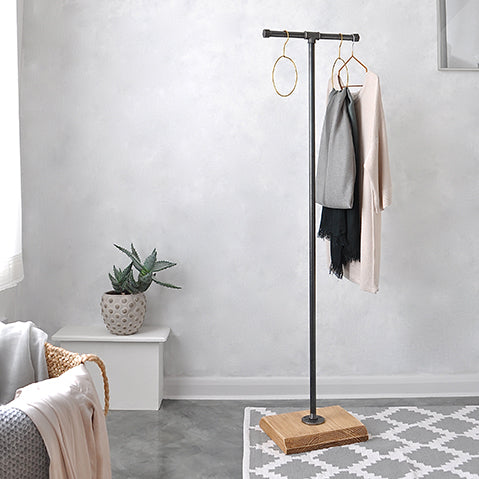 industrial style coat and hat stand from moa design