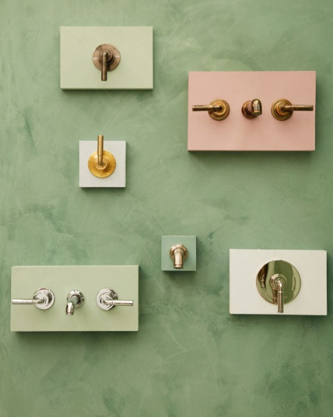 The Bestwood collection of Industrial style bathroom taps from Drummonds