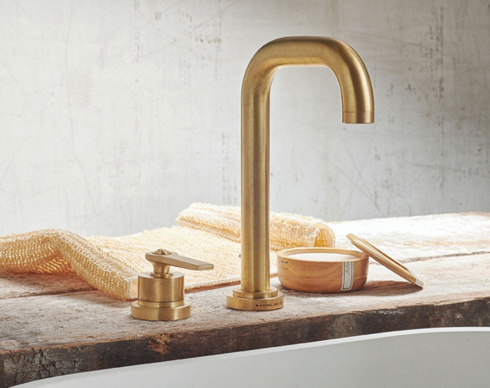 Industrial Style bathroom Taps - Landmark collection by Samuel Heath