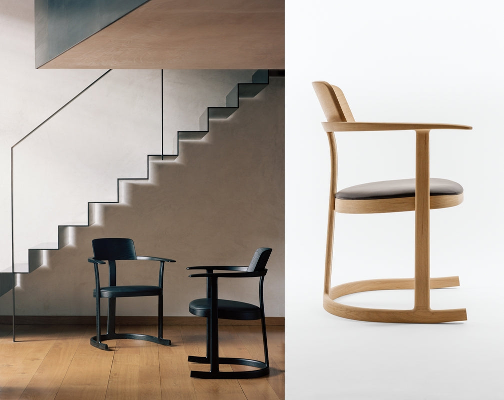 Isokon Plus Bodleain Libraries Chairs. Left photograph by Rory Gardiner. Right photograph by Gyorgy Korossy.