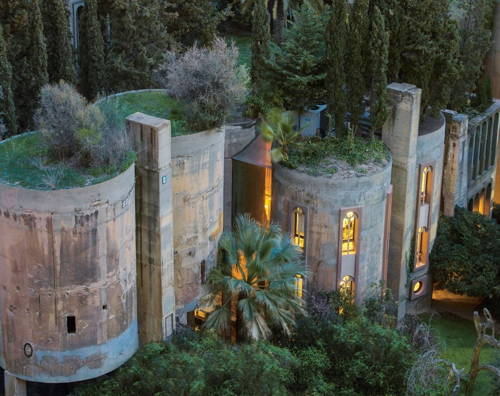 La Fábrica converted cement factory in Sant Just Desvern, Spain; Ricardo Bofill; transformed 1975–. Picture credit: RICARDO BOFILL TALLER DE ARQUITECTURA
