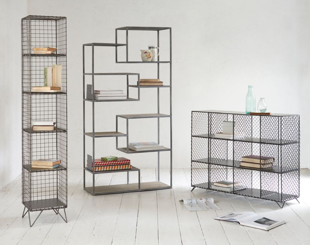 Mish-Mesh Tickety and Highwire metal storage units from Loaf