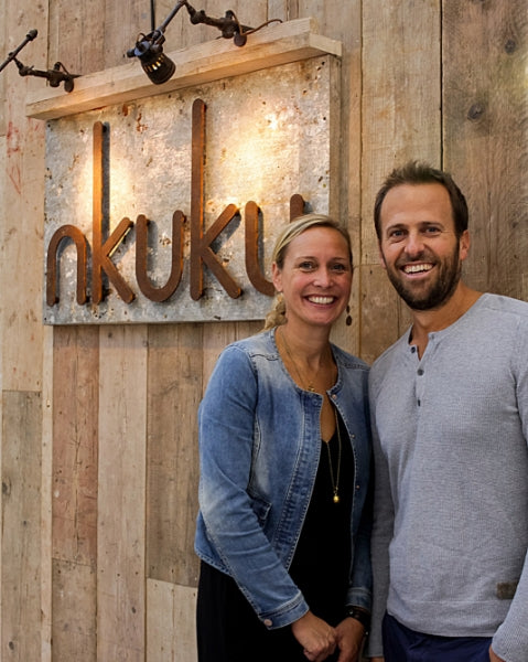 Nkuku founders Alistair & Alex Cooke