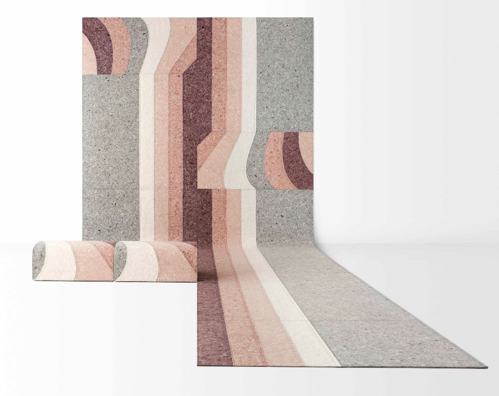 Nuances Rug Collection by Patricia Urquiola for Gan Rugs at Milan Design Week 2019