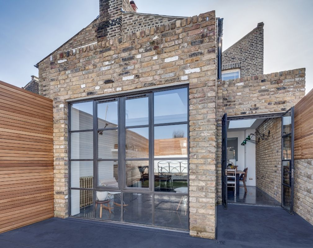 2 storey end of terrace period property gets industrial style makeover by Paper House Project