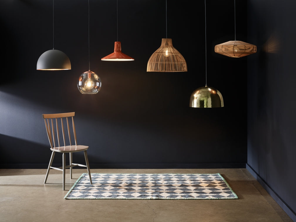 Pendant lighting designs from Habitat's AW18 collection