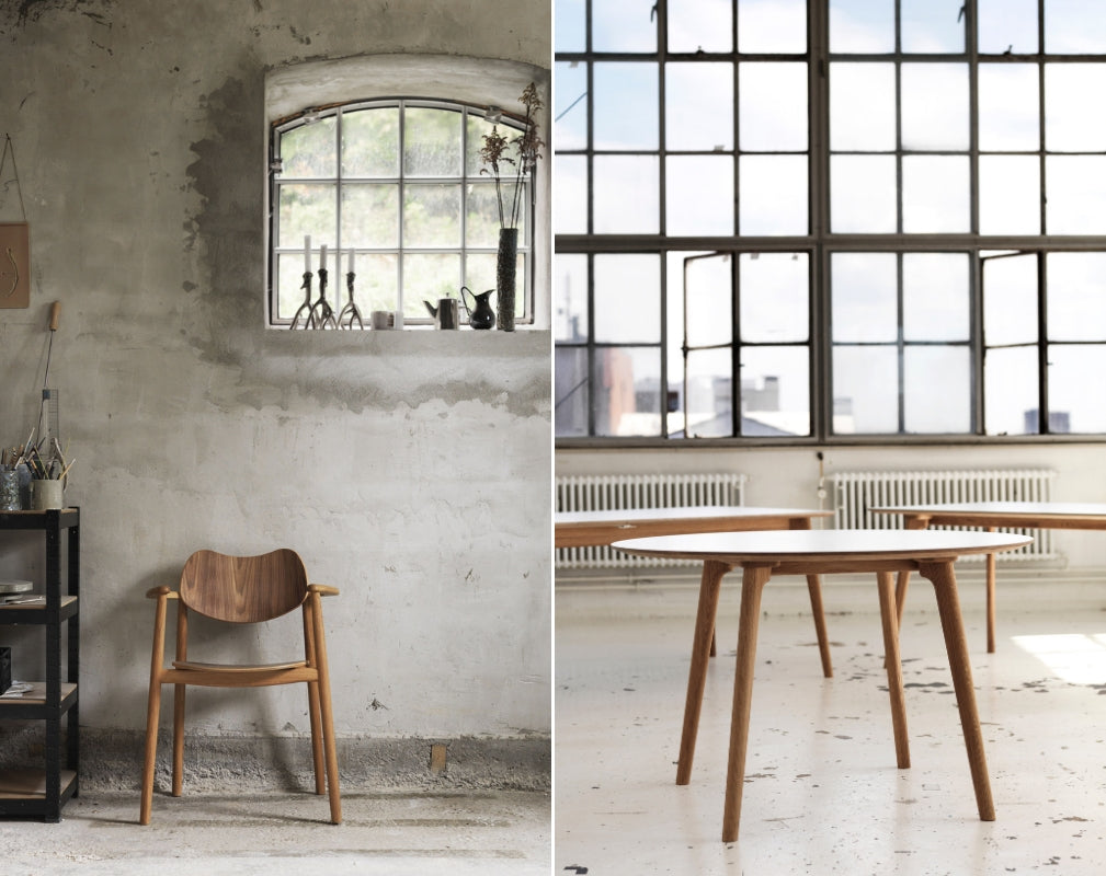 Danish company True North Designs will be presenting their new Regatta chair at Clerkenwell Design Week 2019
