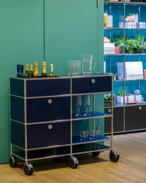 USM Showroom in Clerkenwell London showcases modular Swiss furniture