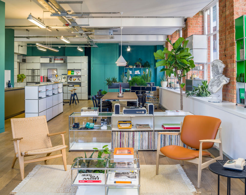 USM Showroom opens in Clerkenwell London displaying range of modular furniture