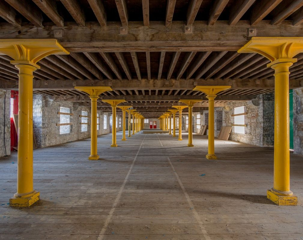 Melville is one of the last remaining buildings on the Royal William Yard development in Plymouth to be developed by Urban Splash