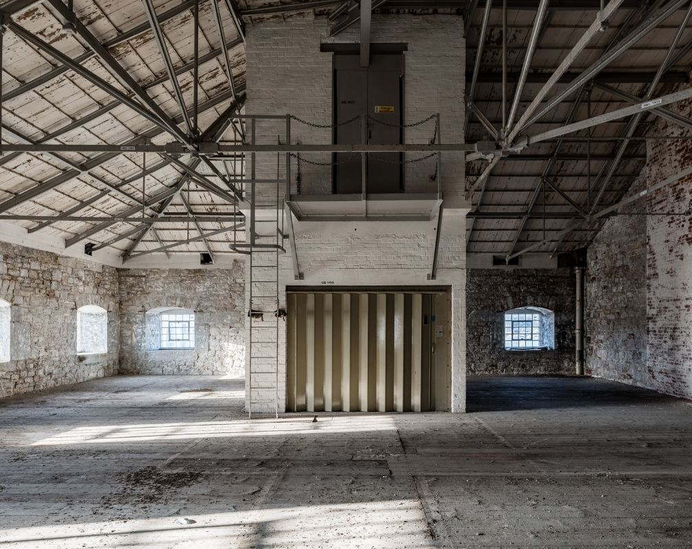 Melville is the latest development at Royal William Yard and will offer a range of business units in the former naval buildings