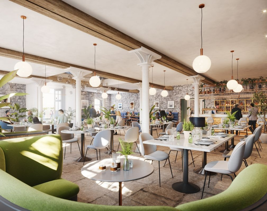 The Melville Building at Royal William Yard in Plymouth is being redeveloped and will offer space for more restaurants