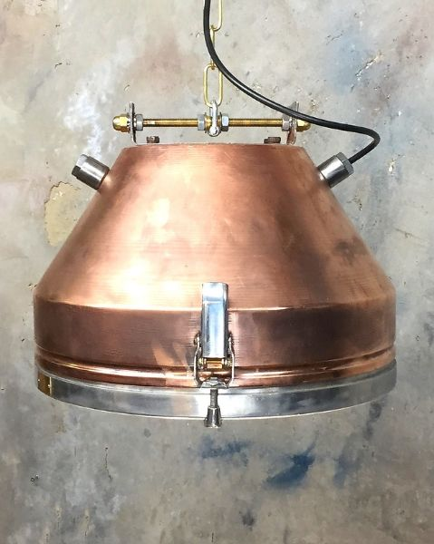 Loomlight VEB Copper Pendant
