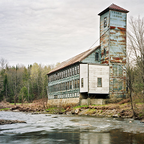 Abandoned textile mill in Massachusetts, America. Photography by Christopher Payne.