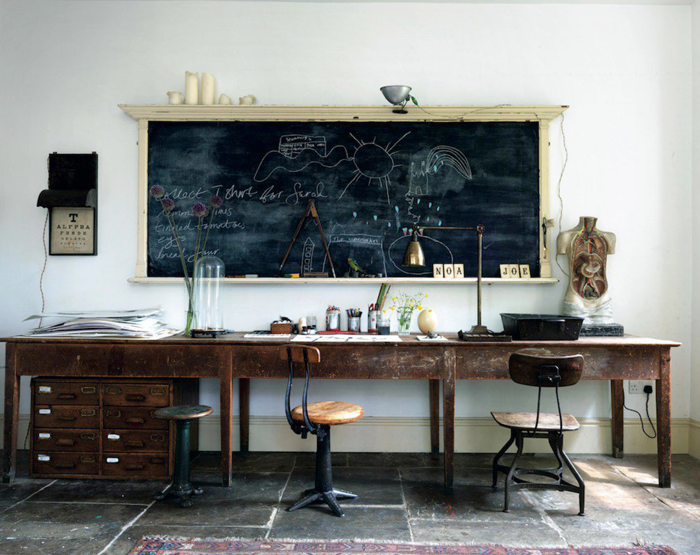 vintage industrial furniture and science inspired accessories salvaged by mark rochester