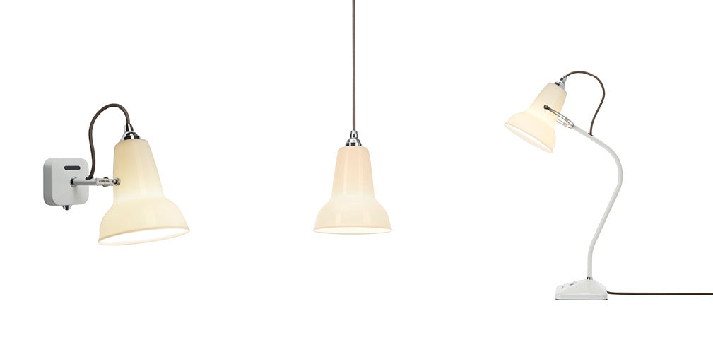 Original 1227 ceramic lighting collection from Anglepoise.