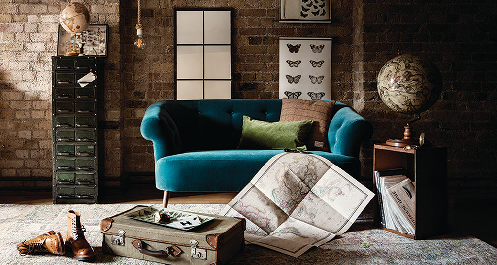 vintage maps and wall charts from the warehouse home edit for surface view