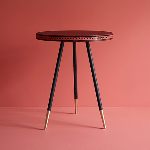 Brogue collection side table by Bethan Gray