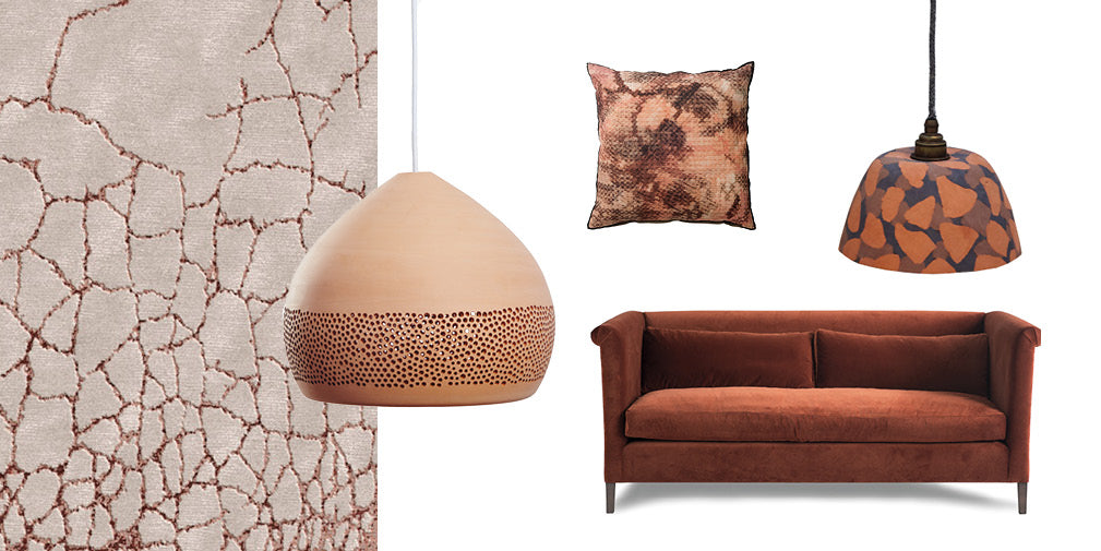 5 of the best terracotta homeware and interior designs.