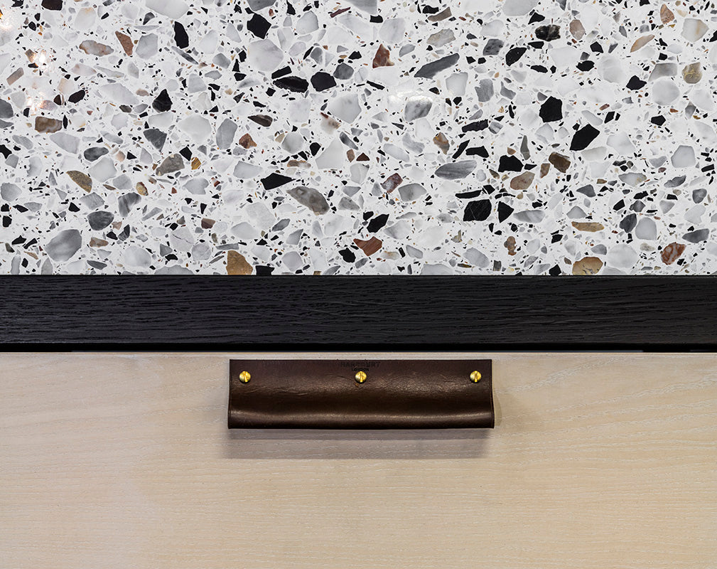 ERNO terrazzo kitchen by goldfinger factory x holland harvey architects.