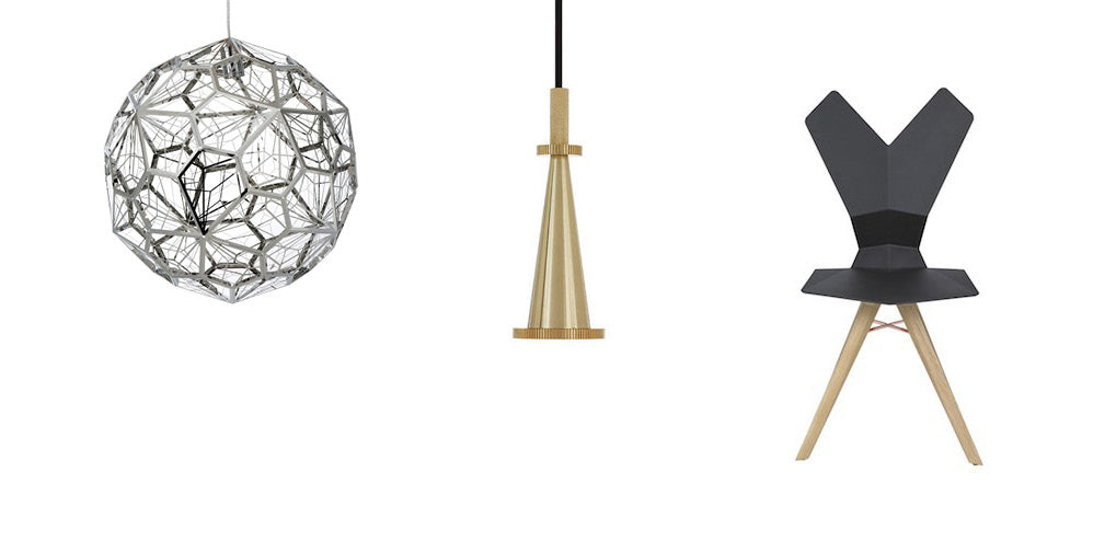 get the look dock kitchen by tom dixon metal lighting and furniture