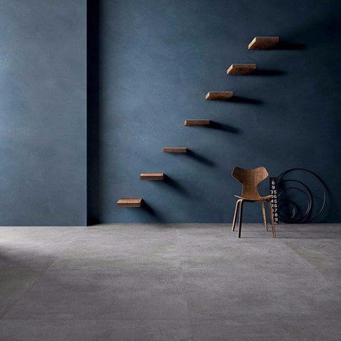 contemporary concrete effect tiles from parkside will be on display during clerkenwell design week 2018