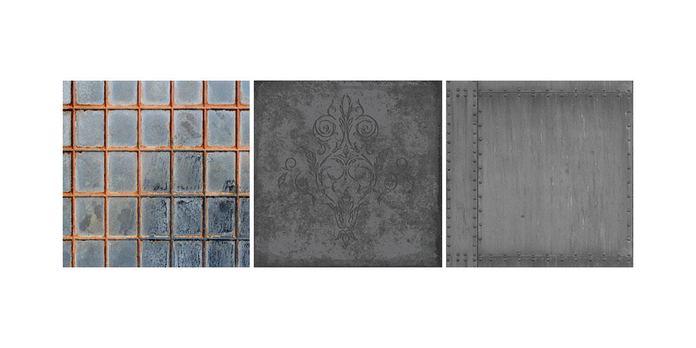 five of the best wallpaper designs in industrial style