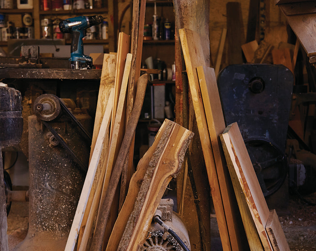 british hardwood features in the sussex workshop of ted jefferis