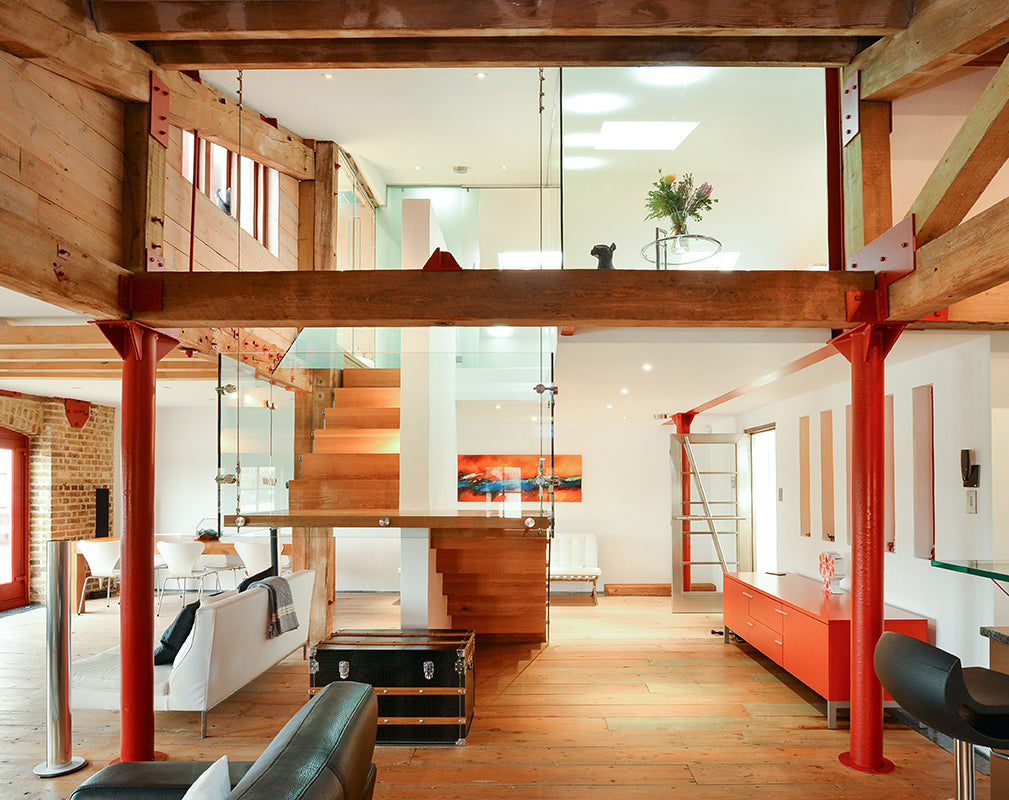 London Loft With River Views To Buy - Warehouse Home