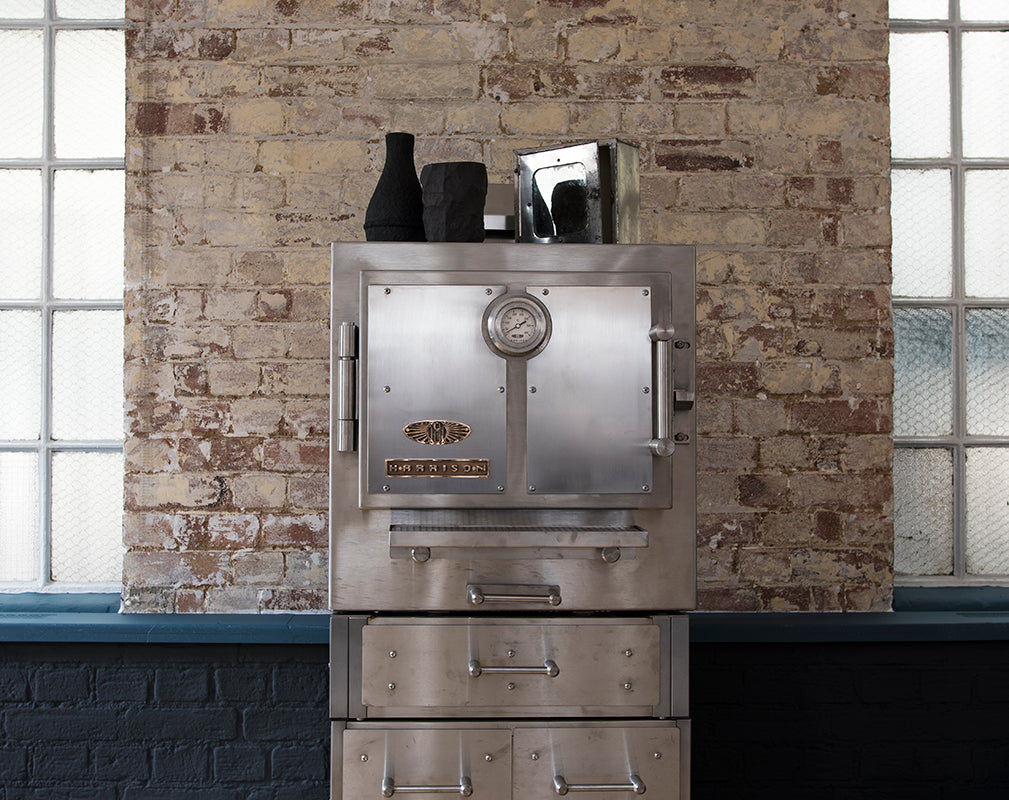 the harrison s charcoal oven as featured in the warehouse home apartment