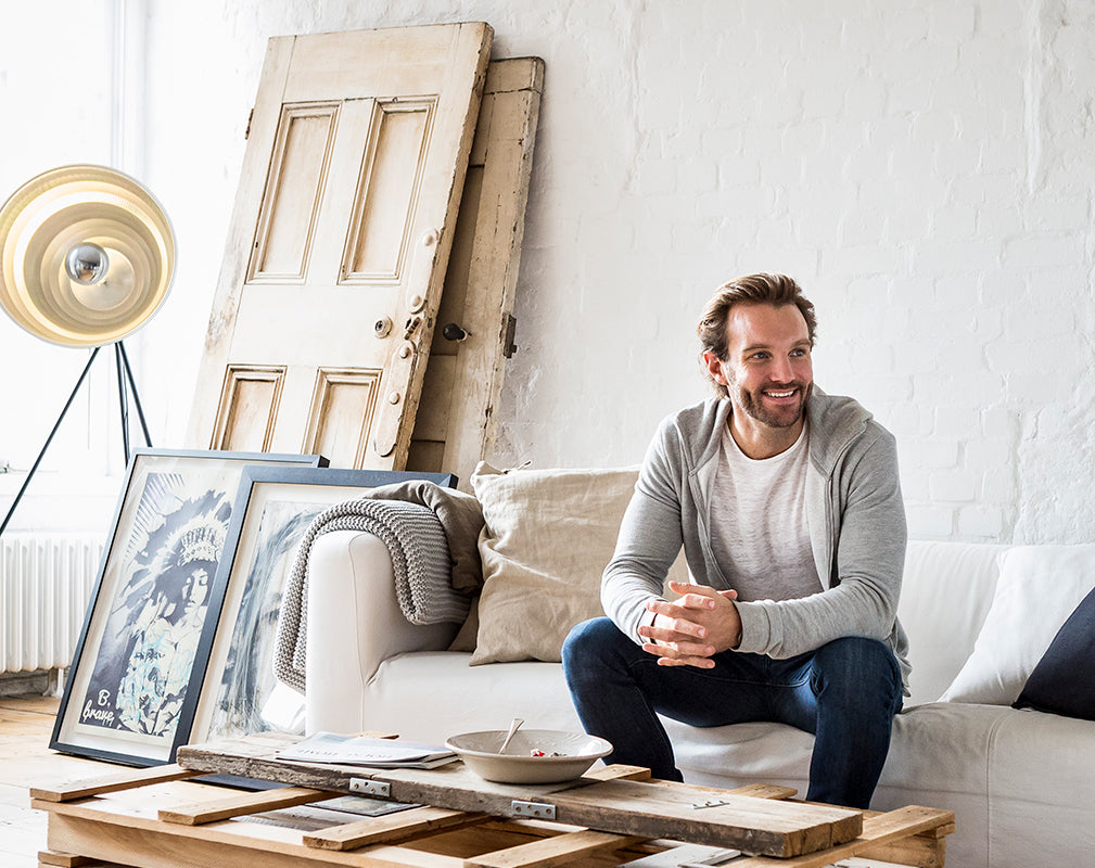 patrick drake cofounder of hellofresh lives in an open plan warehouse conversion