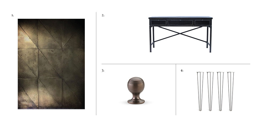 5 pieces you need to channel a vintage industrial interior scheme