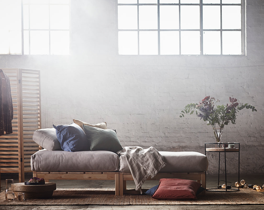 The latest furniture collection from IKEA features raw timber, rattan and wicker