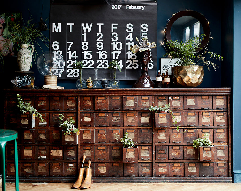 vintage apothecary cabinet as featured in extraordinary interiors by rockett st george