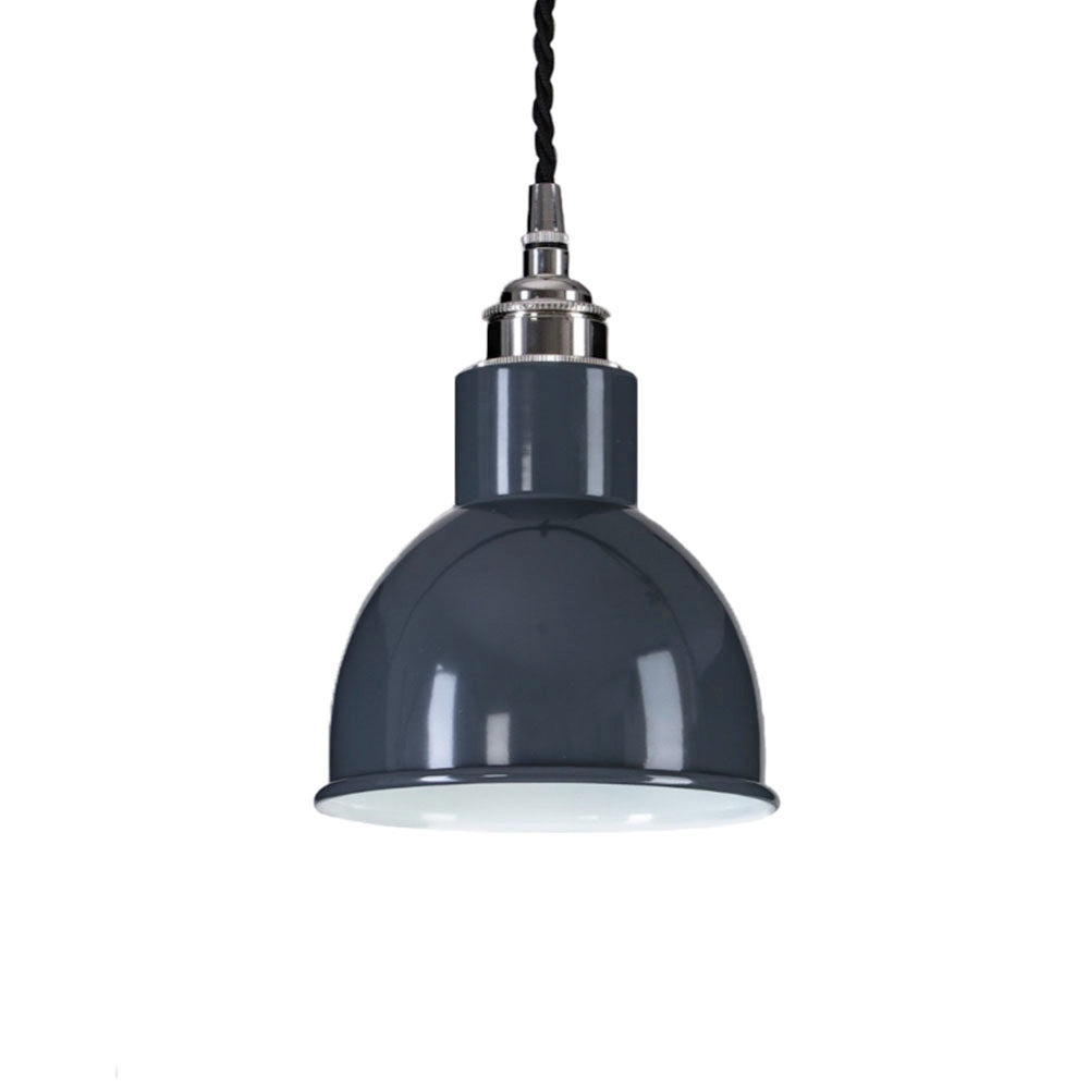 Churchill Pendant In Grey