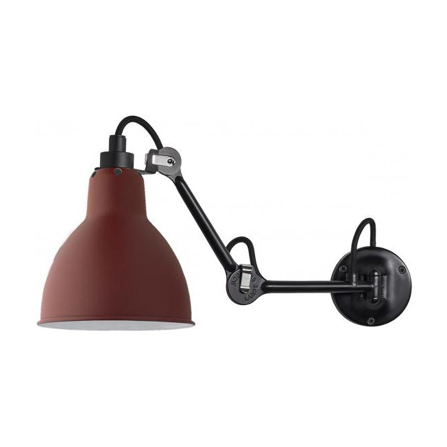 DCW éditions Lampe Gras 204 wall light in red from Warehouse Home
