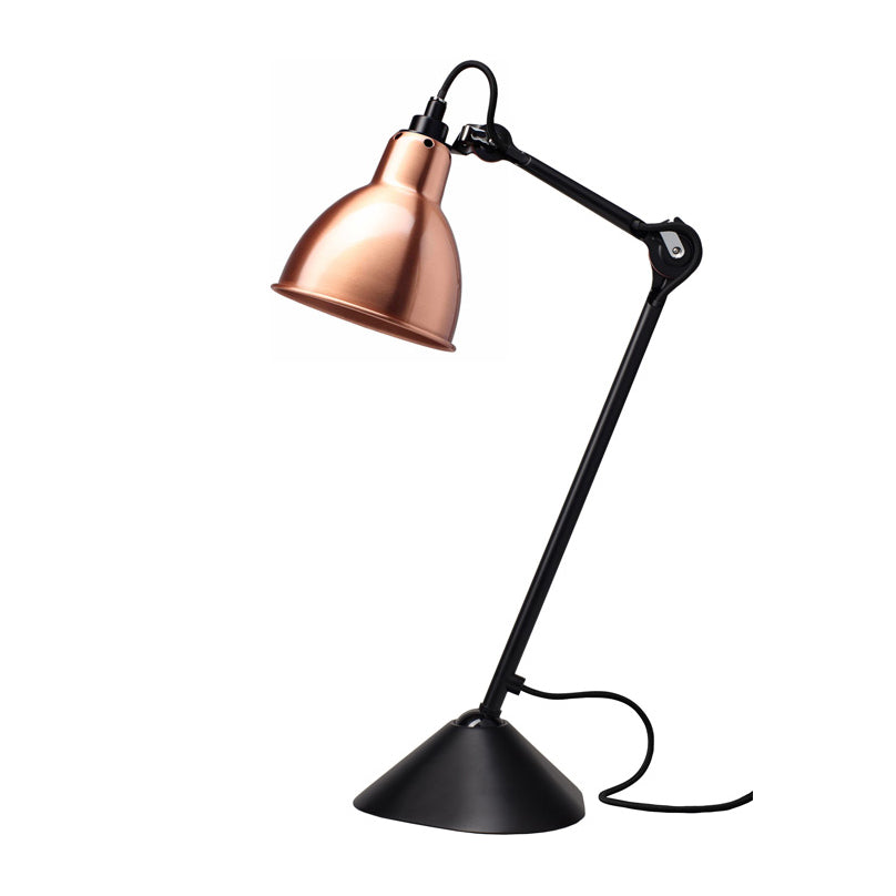 Lampe Gras 205 Table Lamp In Black/Copper