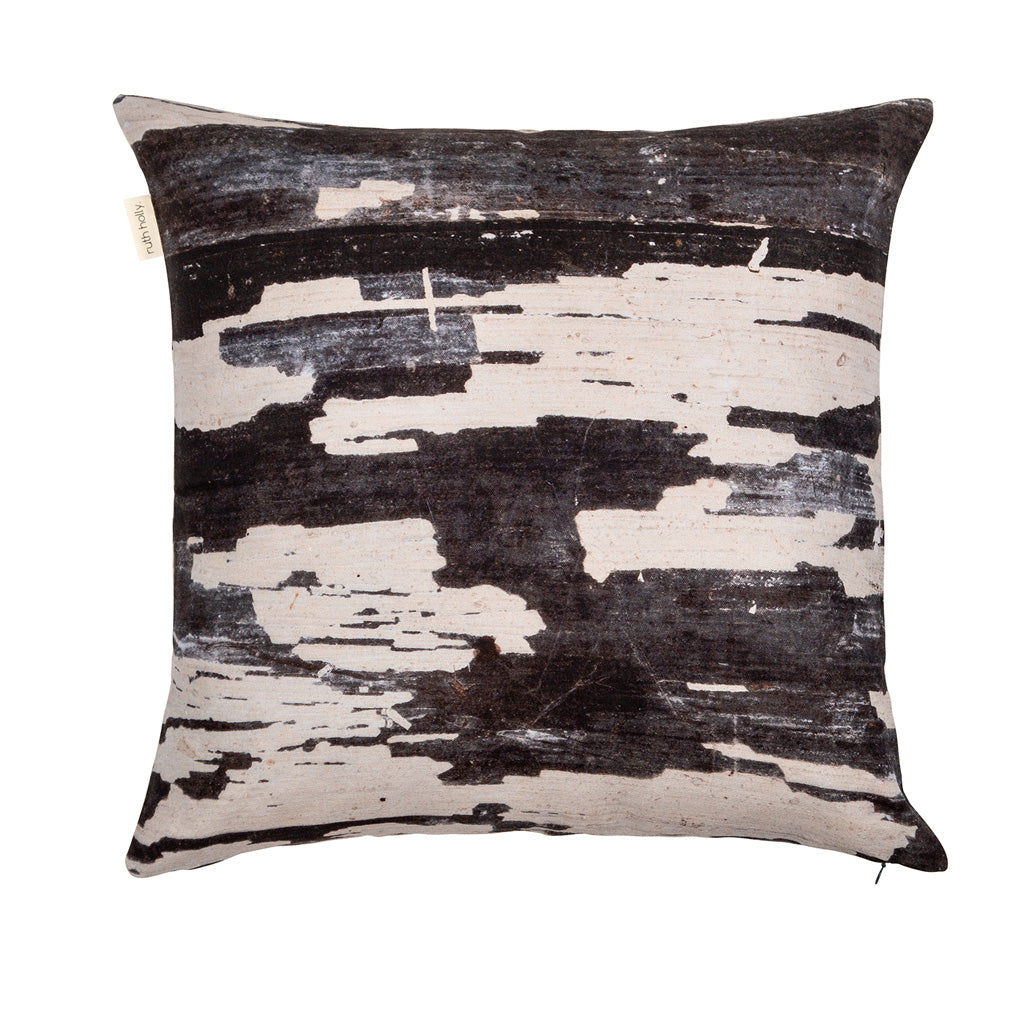 Painted Wood Texture Square Cushion