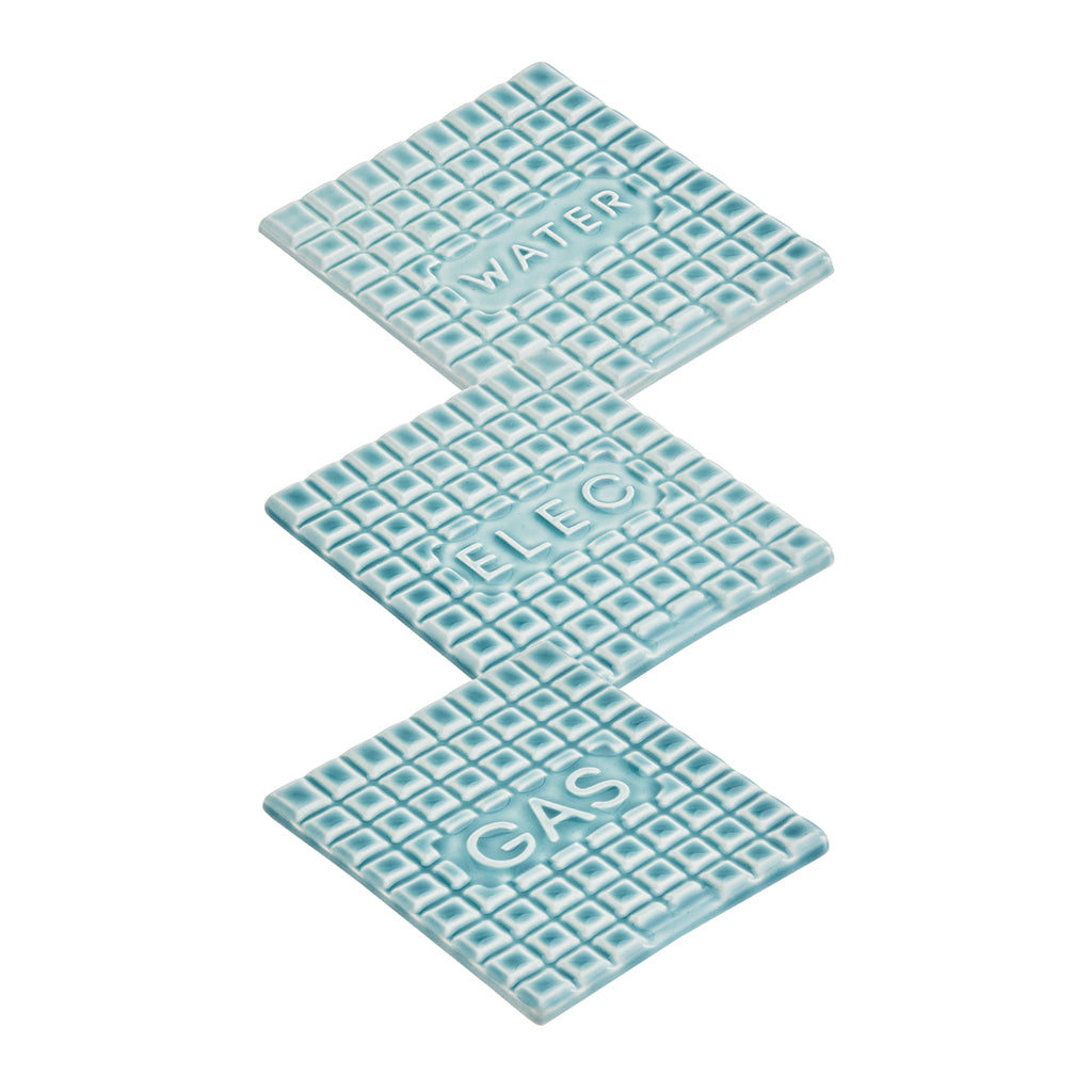 The Blue Manhole Coaster from stolen form is now available to buy in the warehouse home shop