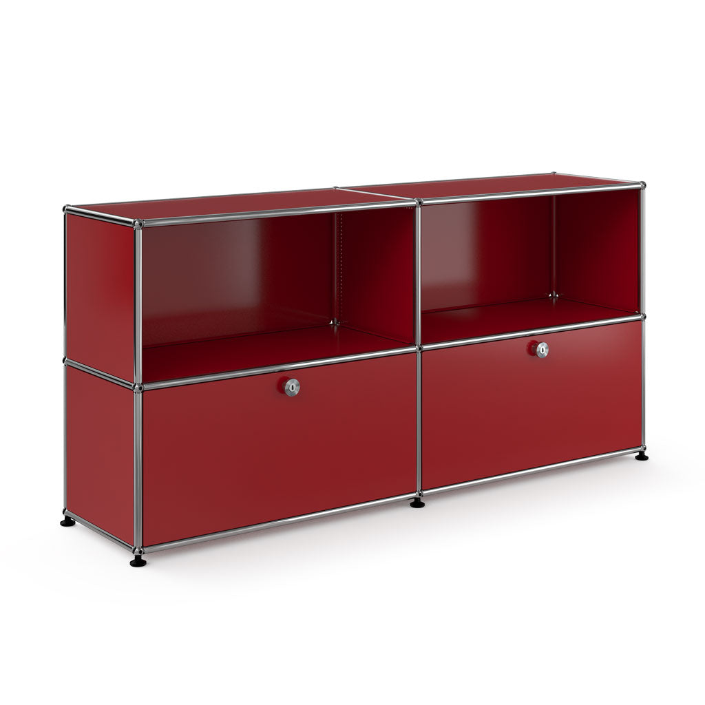 Haller Sideboard In Red - 3 Formats
