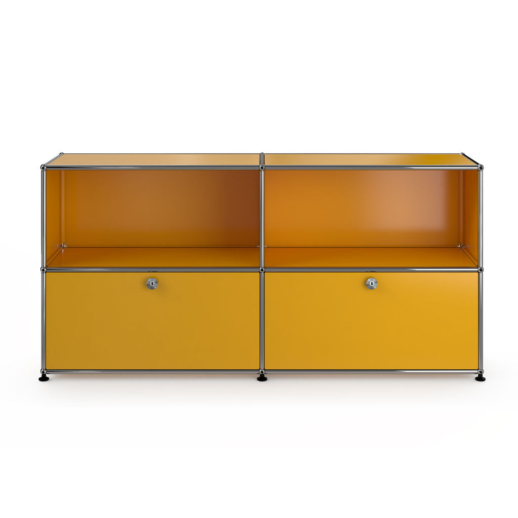 Haller Sideboard In Yellow - 3 Formats