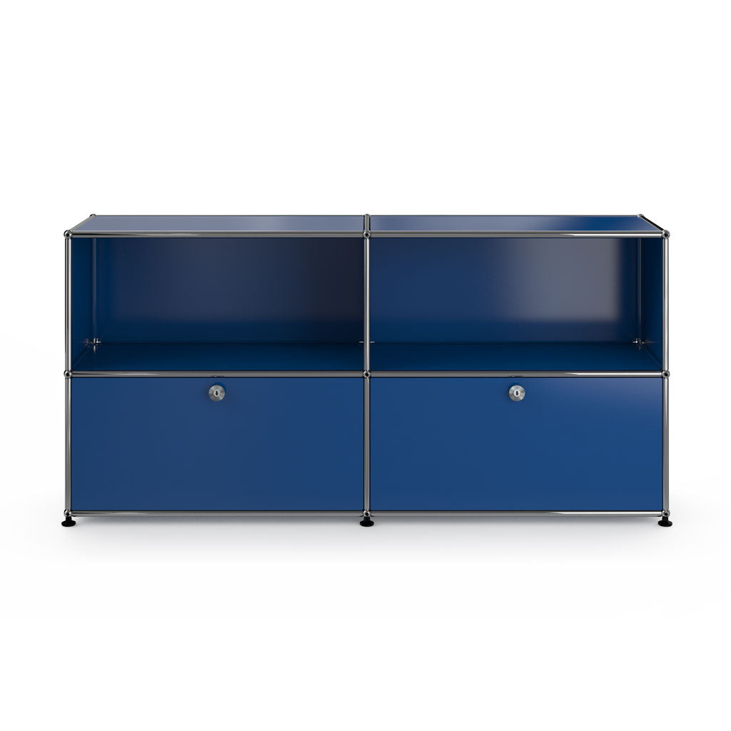 Haller Sideboard In Blue - 3 Formats
