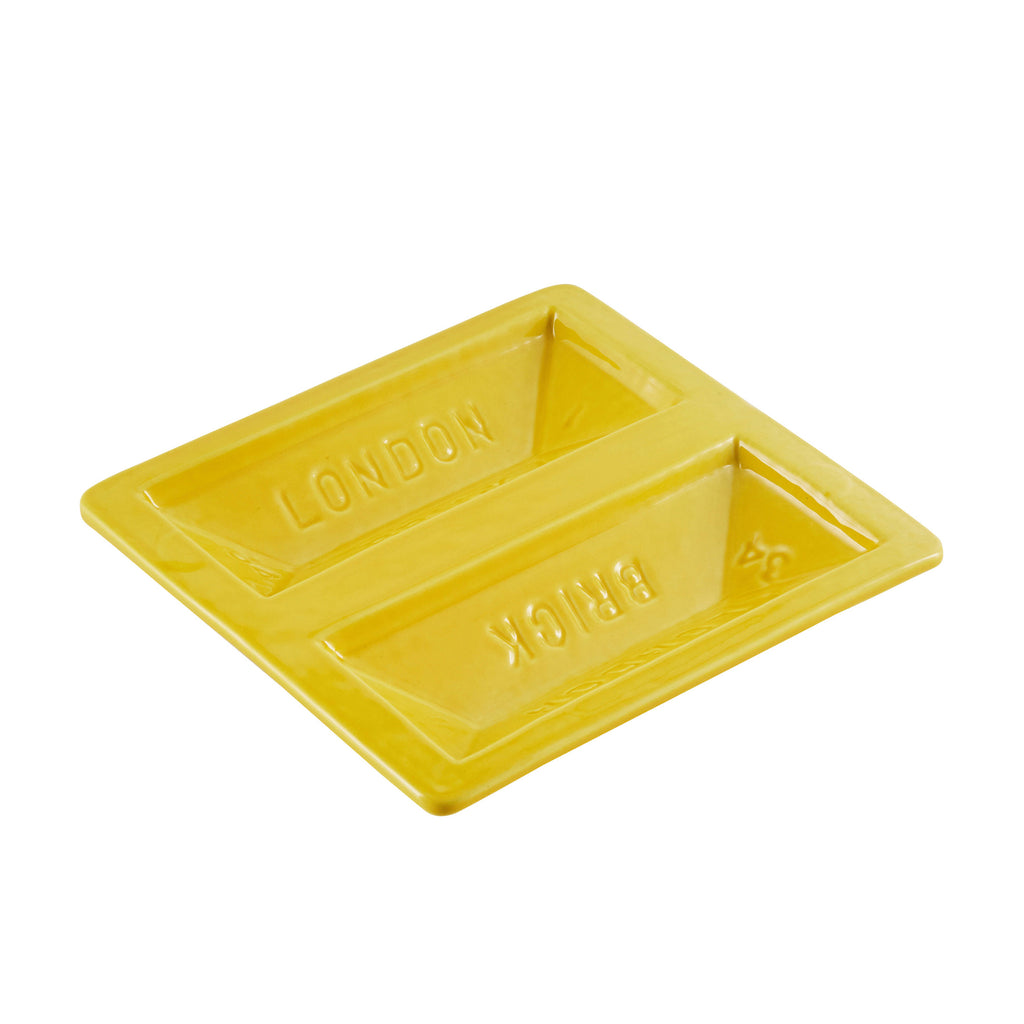 Brick Dish In Yellow
