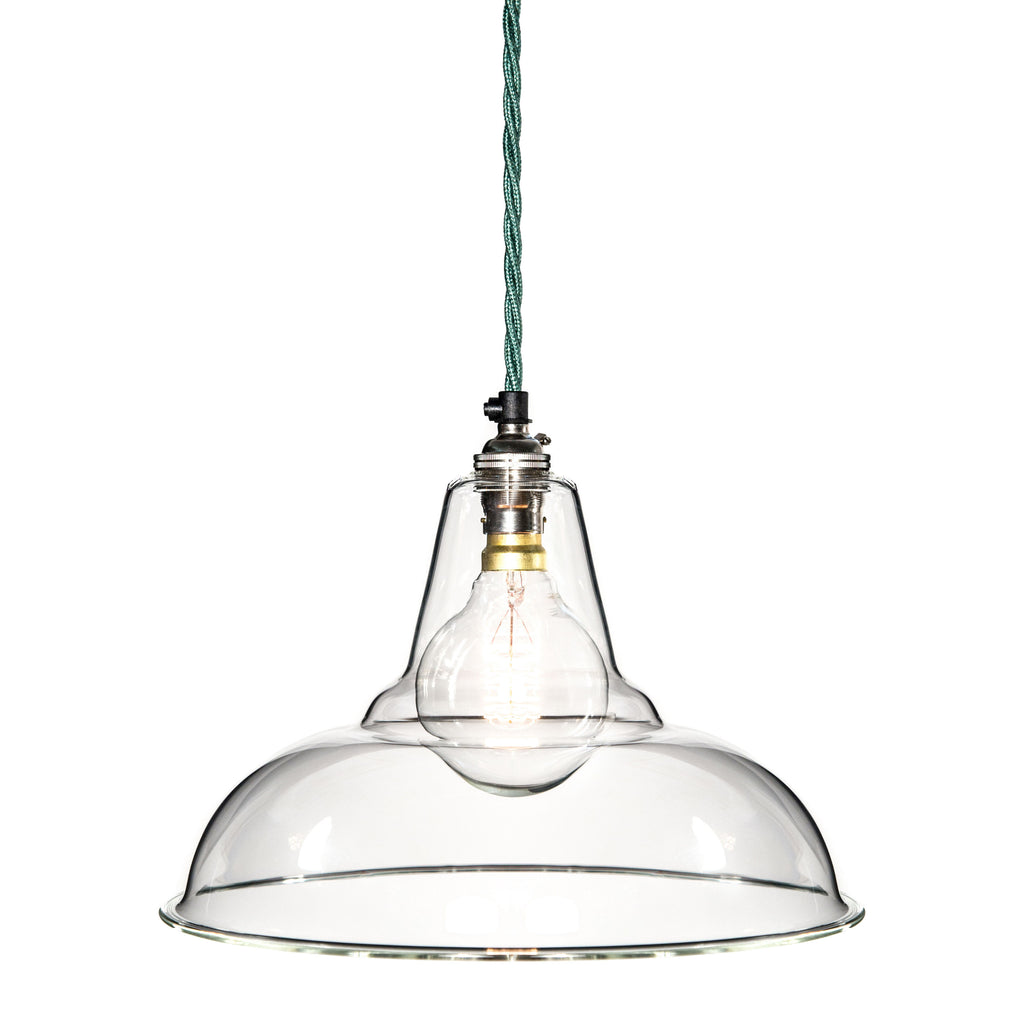 Factorylux Coolicon Pendant In Glass