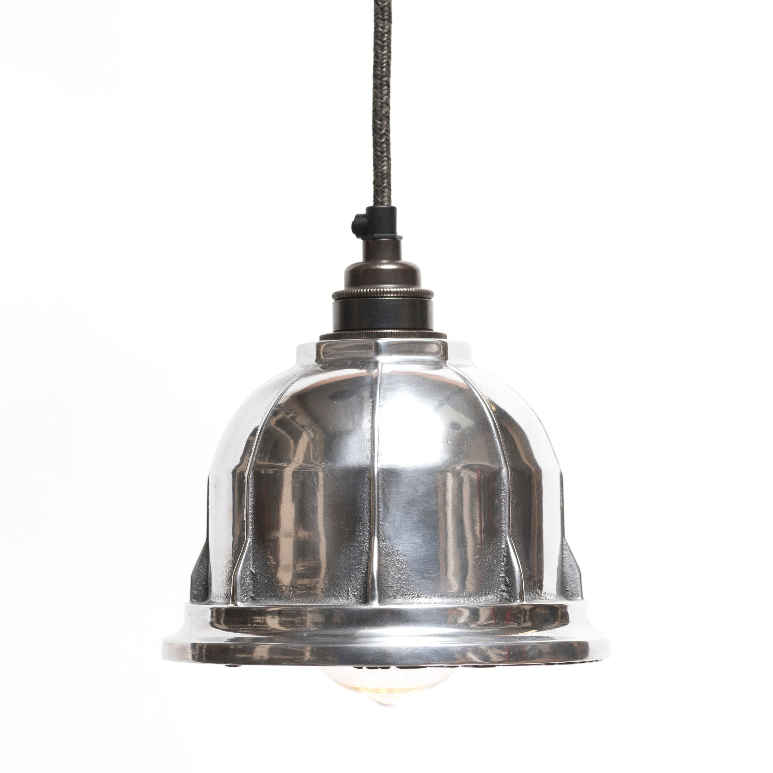 The Rag & Bone Man hand polished Pattern #3 Meter pendant lamp from Warehouse Home