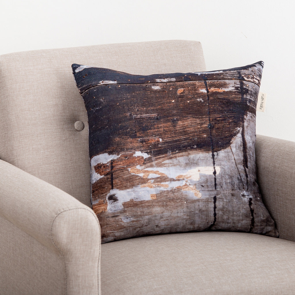 Painted Textured Wholesome Square Cushion